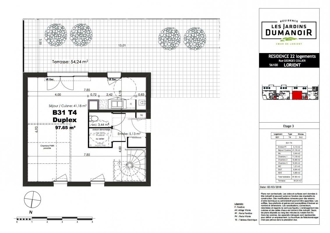Programme neuf Duplex Lorient (56100)